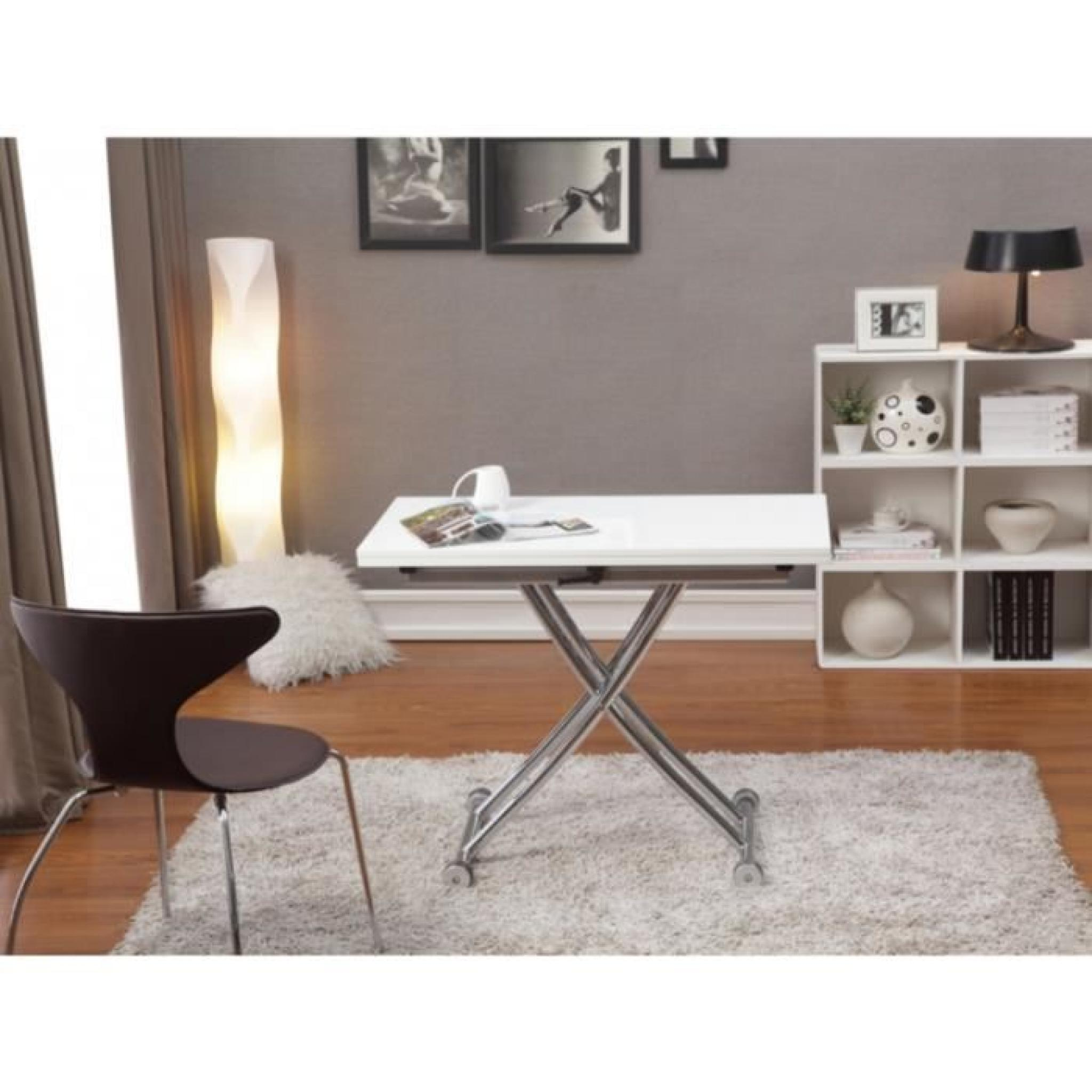 Table Basse Qui Se Transforme En Table Haute Table Basse Haute