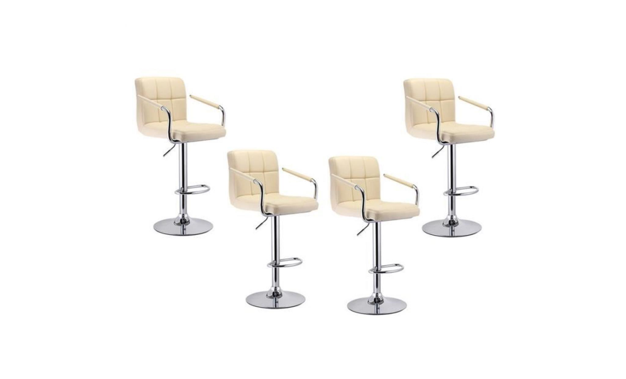 Tabouret De Bar Lot De 4 Tabouret De Bar Design Chaise De Bar Noir Achat Vente Tabouret Pas Cher Couleur Et Design Fr