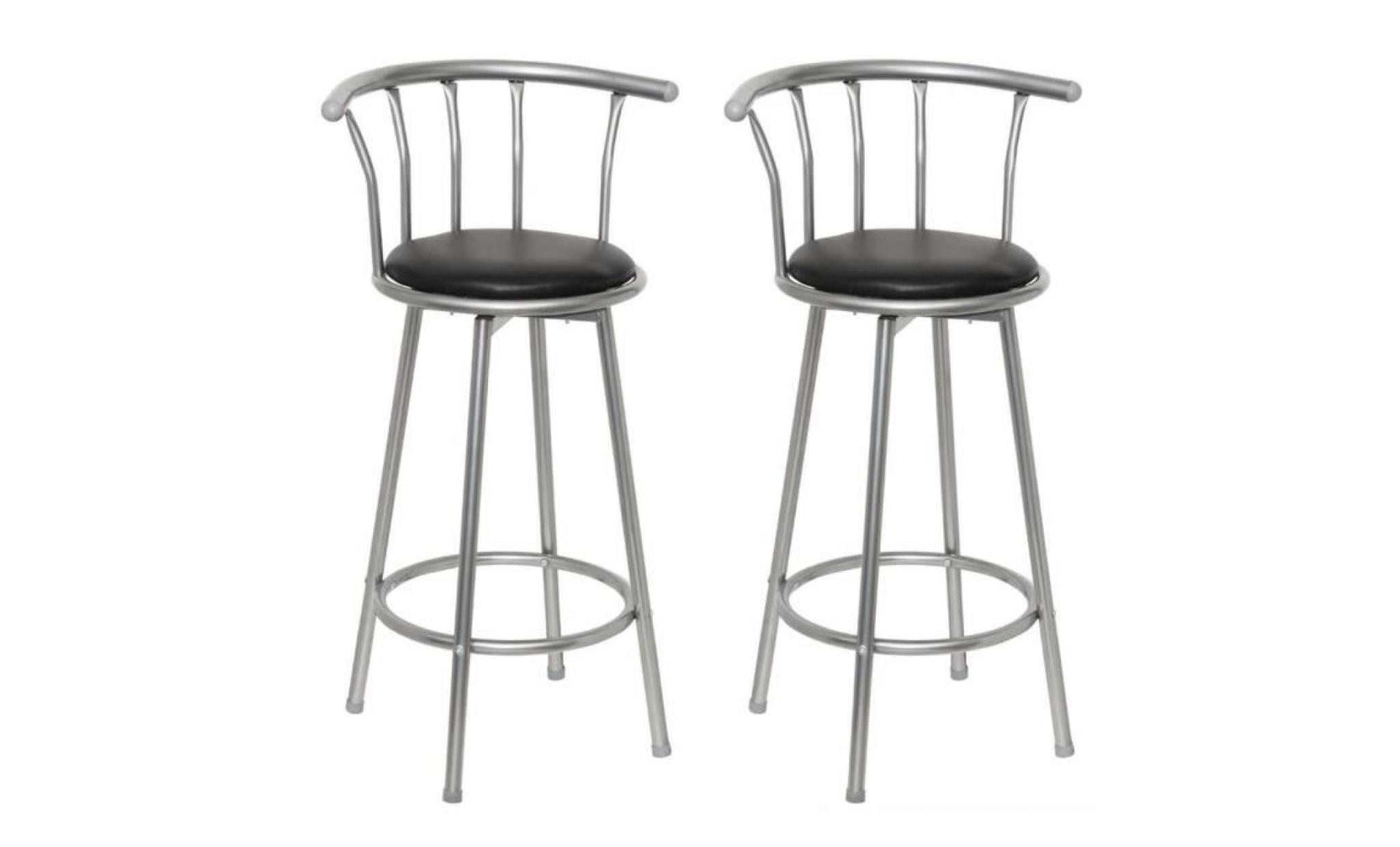 Lot De 2 Tabouret De Bar Tabouret De Bar Louisiane Lot De 2 Achat Vente