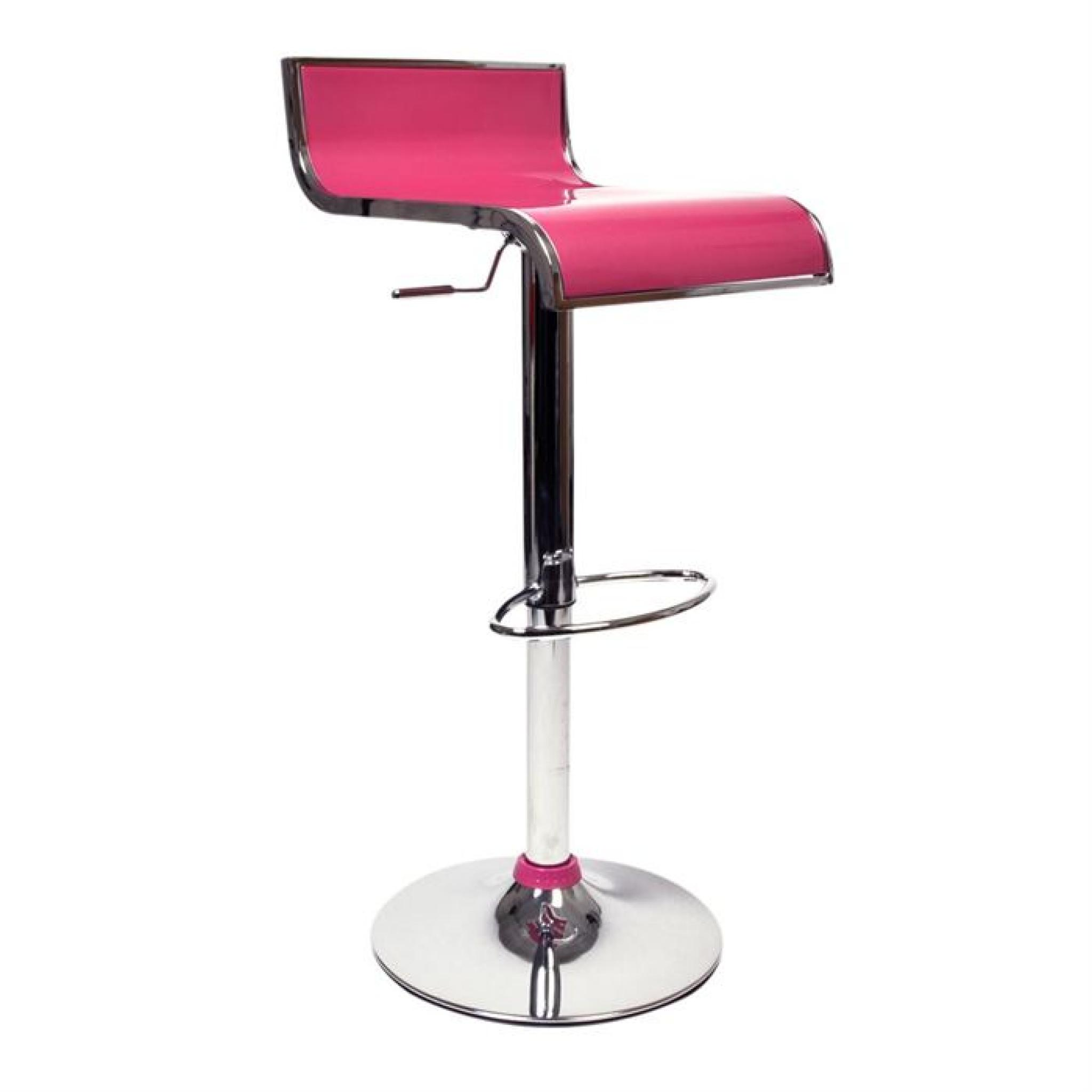 Tabouret Bar Rose Tabourets De Bar Rose Design Waves Lot De 2 Achat