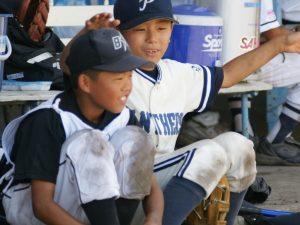 少年野球チームメイト