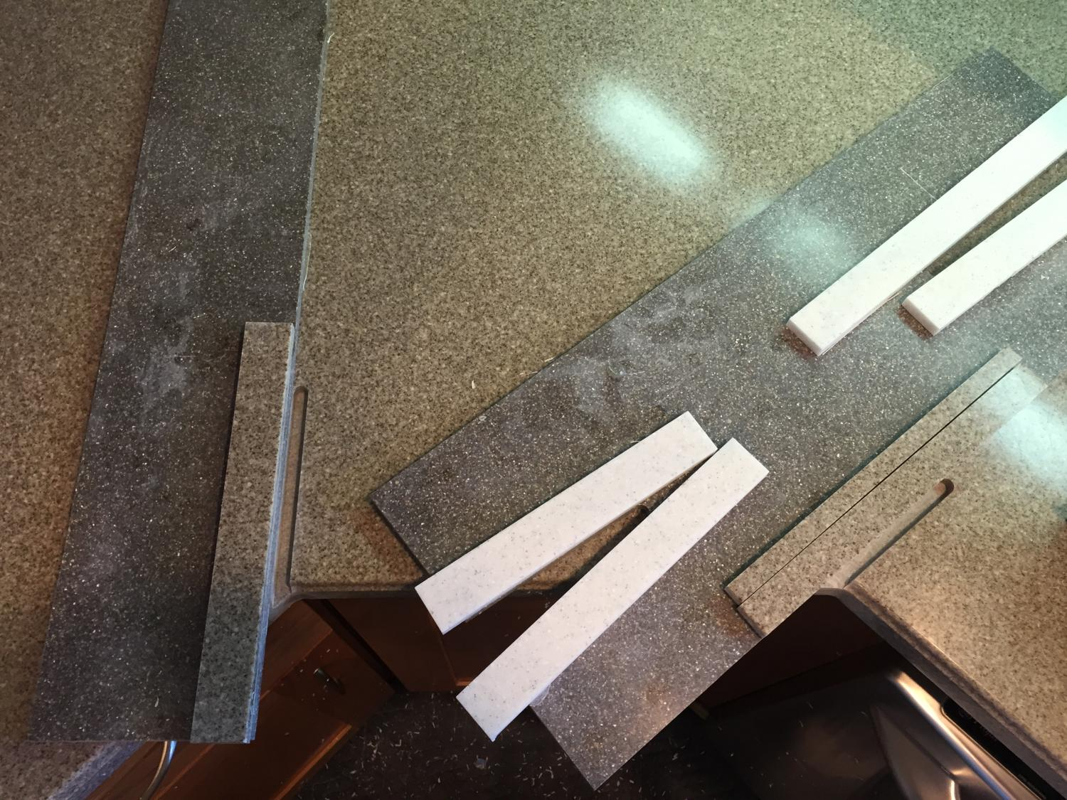 How To Repair Crack In Granite Countertop Countertop Repair Countertop Connection