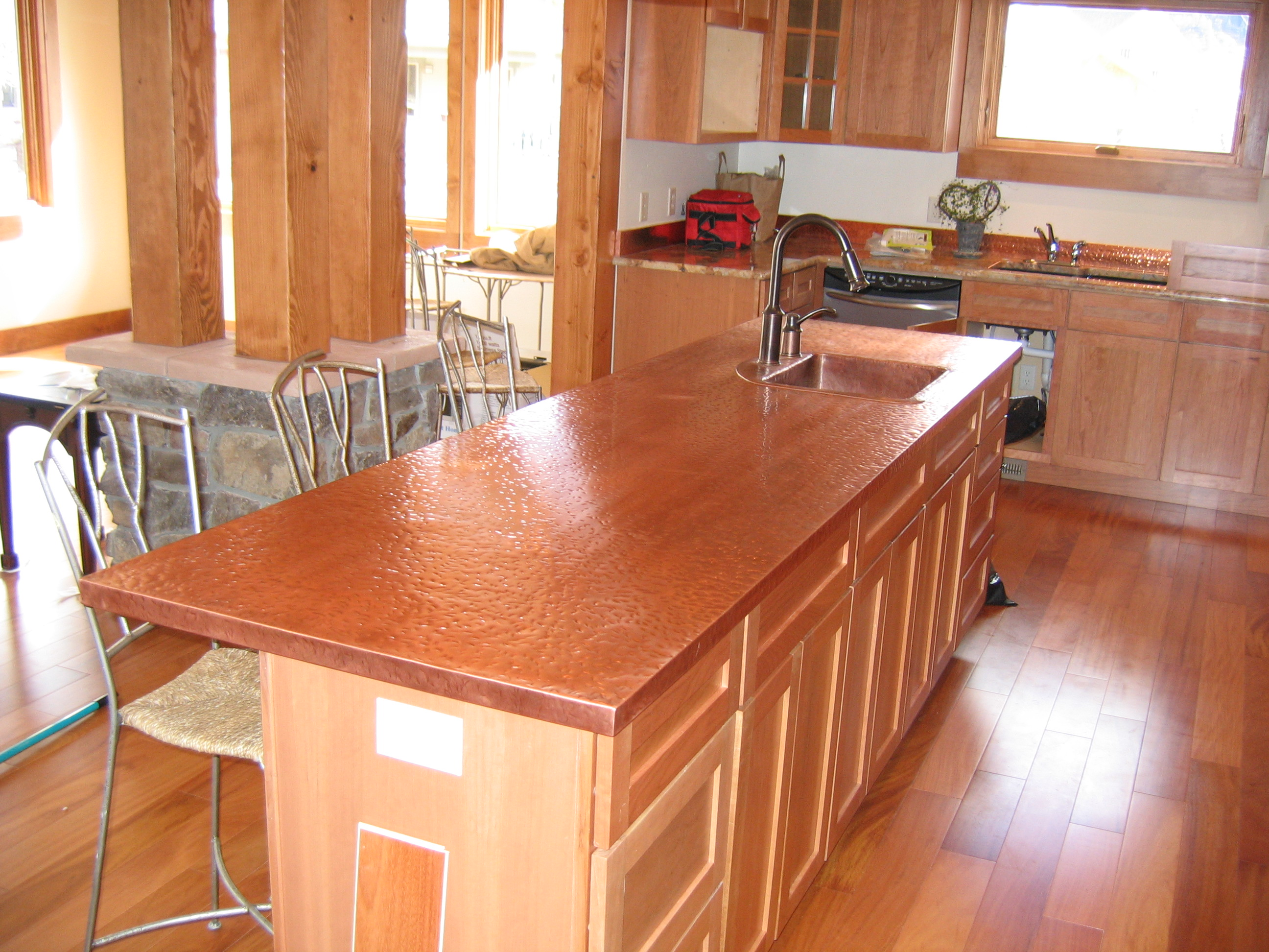 Western Countertops Copper Countertops Cost Installed Plus Pros And Cons Of