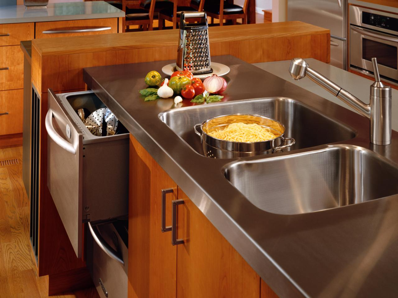 Stainless Steel Countertops Cost Installed Plus Pros And Cons Of Stainless Steel Tops Countertop Costs And Options For Kitchens And Bathrooms