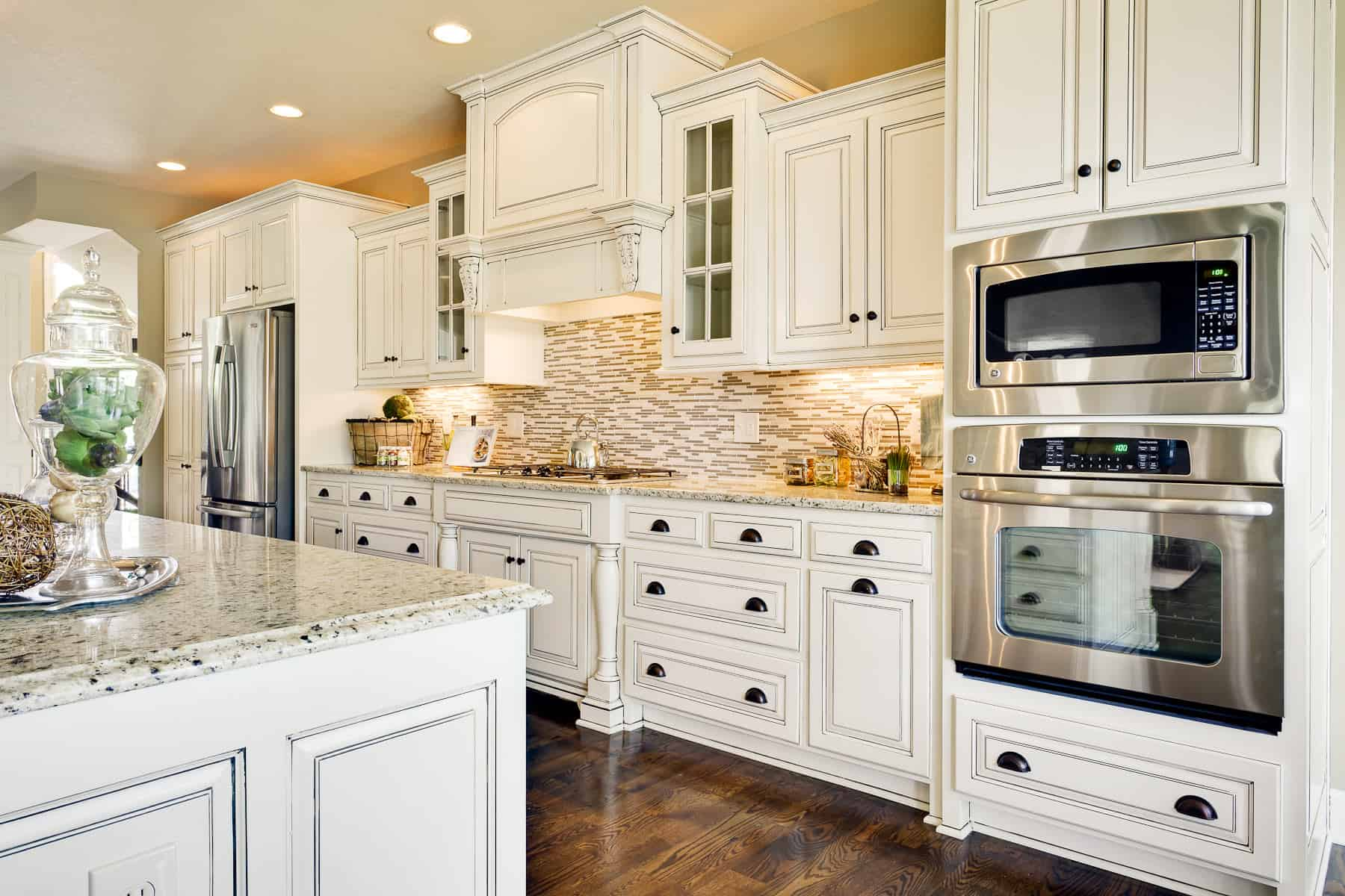 Granite Kitchen Countertops With White Cabinets How Much Do Granite Countertops Cost Countertop Guides