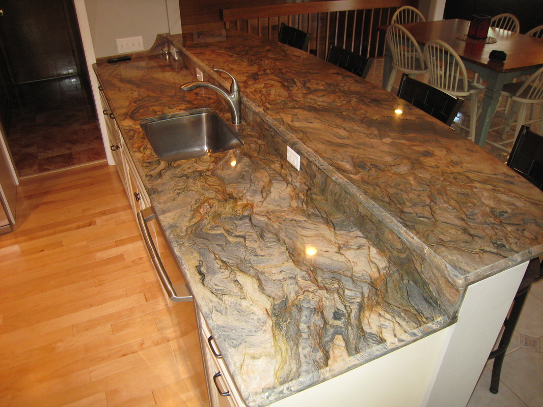 Granite Countertops Massachusetts Fusion Kitchen Countertops By Superior Granite Marble