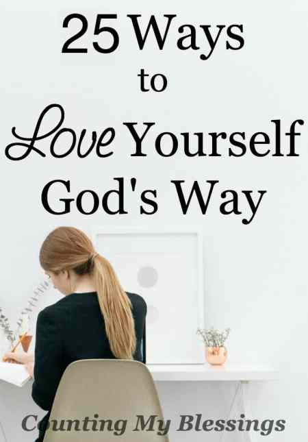 "If you Google ""love yourself"" you'll find a plethora of thoughts on the subject. But what if there's more to it. What if God's way looks different."