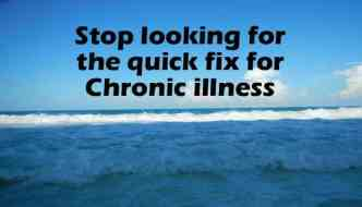 5 mistakes those with chronic illness make