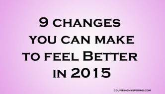 changes you can make to feel better in 2015