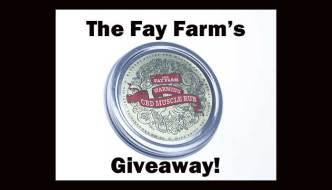 Fay Farm CBD Oil Product Giveaway