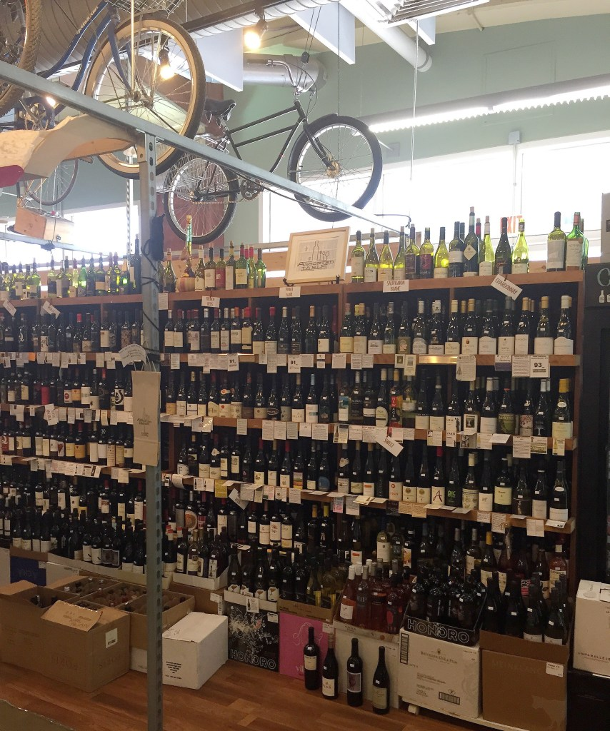 Assorted table wine shop Charlotte North Carolina