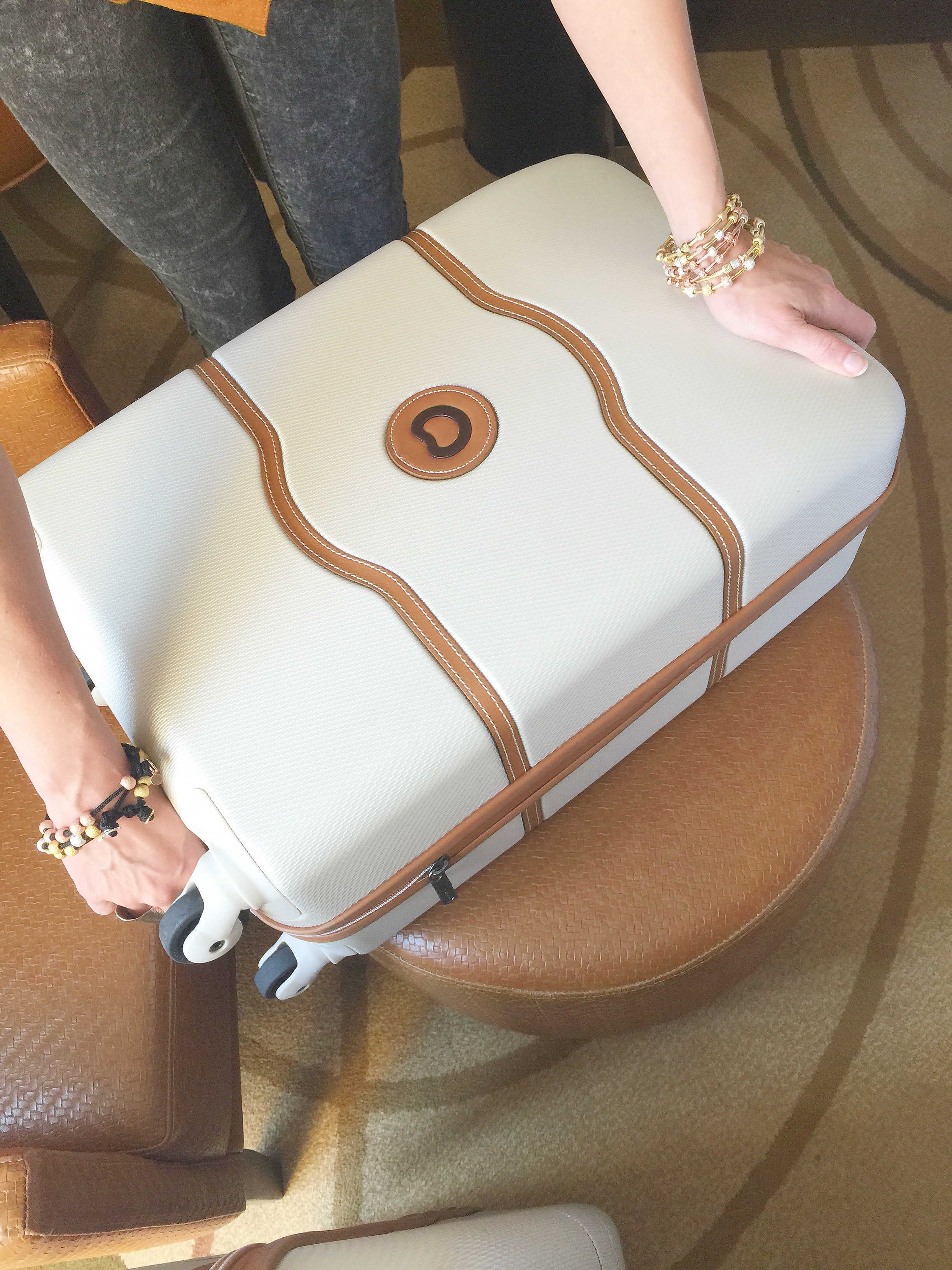 Delsey Chatalet Carry-on in Champagne