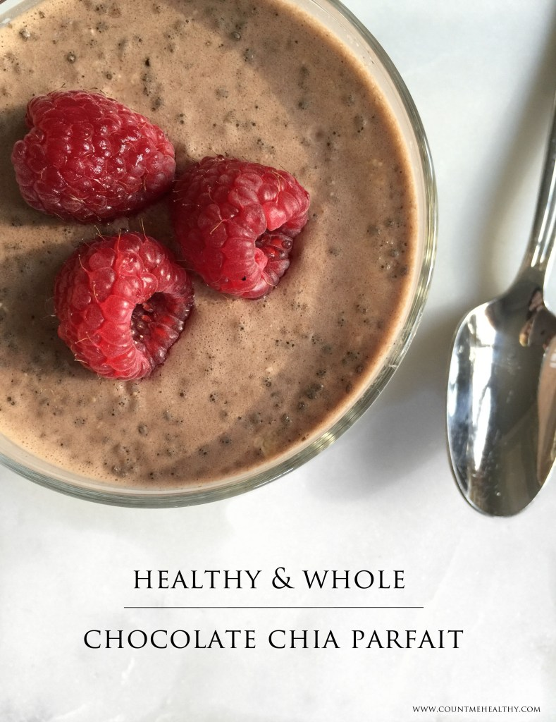 Healthy Chocolate Chia Pudding - Count Me Healthy