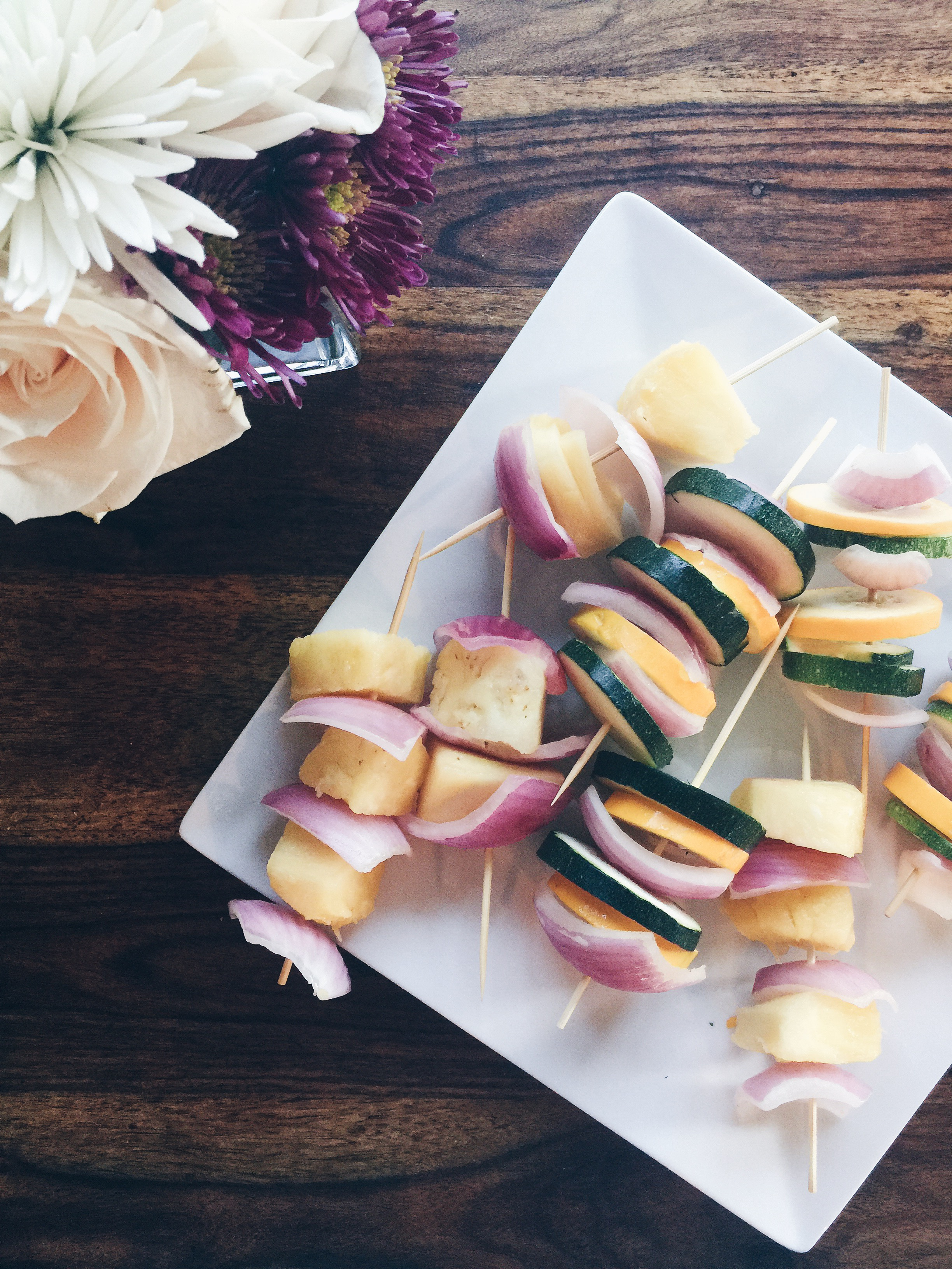 Terra's Kitchen Vegetarian Rainbow Kabobs via Count Me Healthy