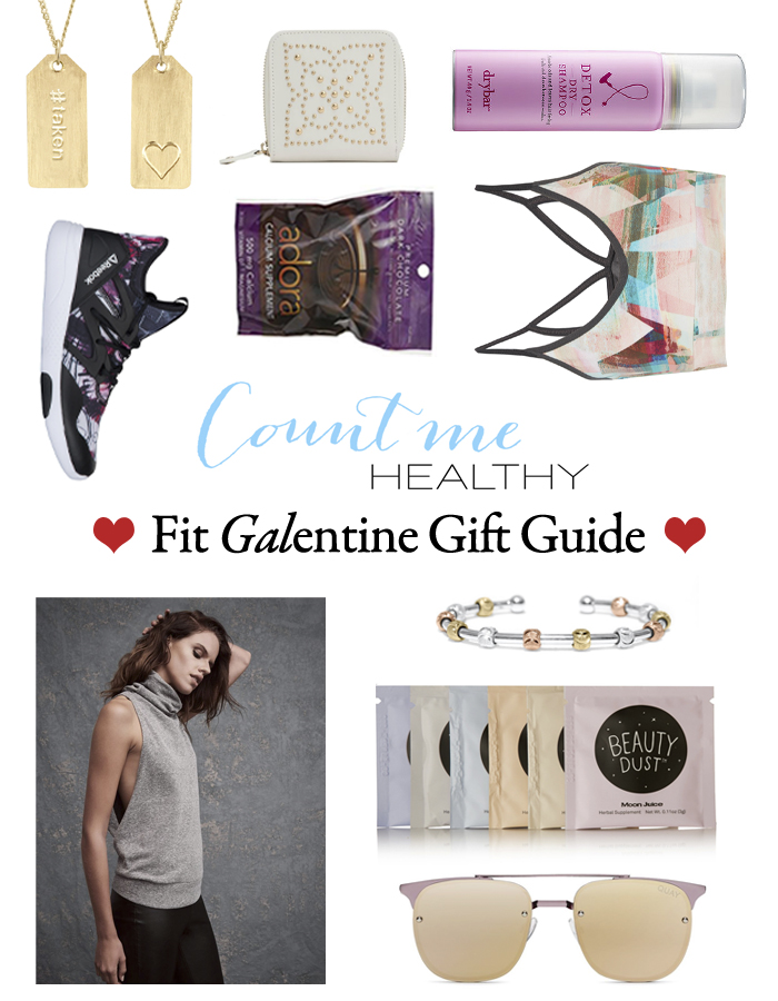 Count Me Healthy Fit Girls' Valentine's Gift Guide