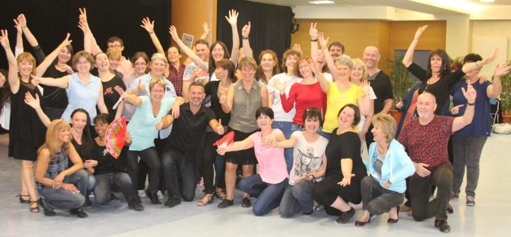 Les participants aux workshops