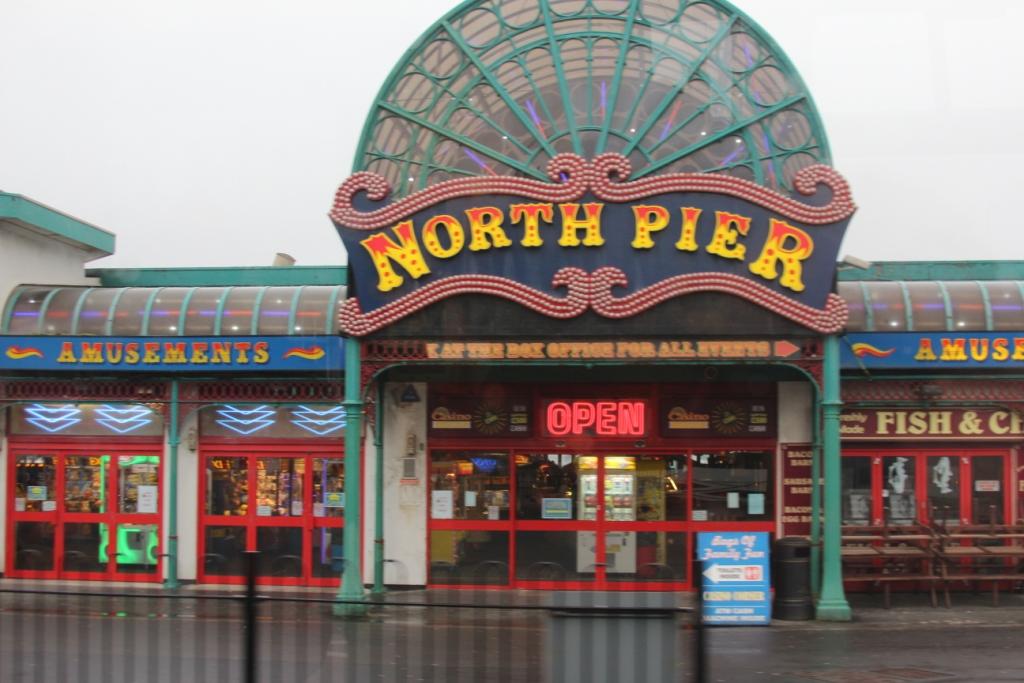 Les attractions de North Pier