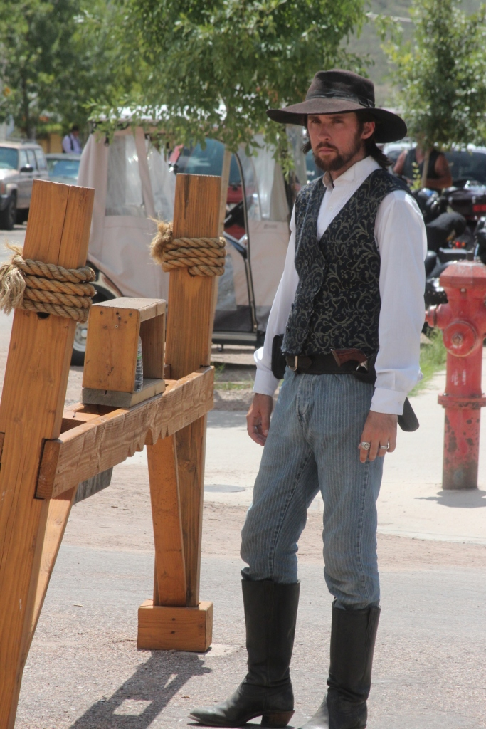 Tombstone et les personnages de Western