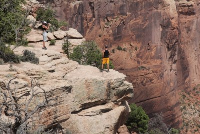 Le Canyon de Chelly : des surplombs impressionnants