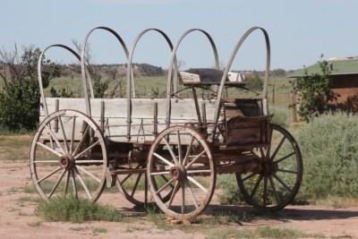Hubbell Trading Post, un ancien chariot de l'Ouest !