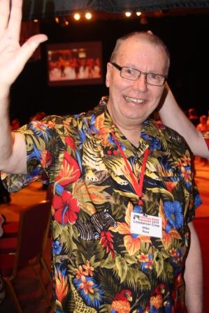 Mike Rose, maquettiste du magazine Linedancer
