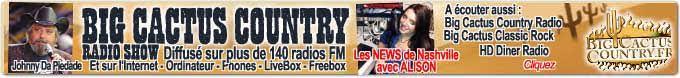 Écoutez la radio avec Big Cactus Country