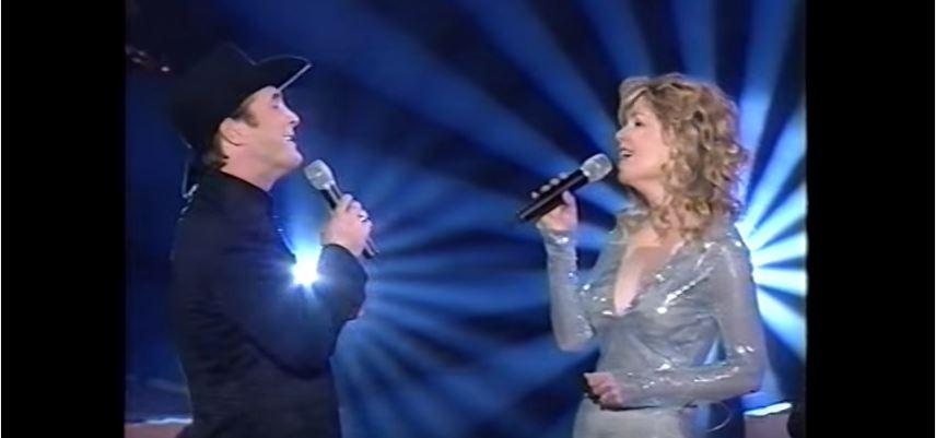Duo Clint Black & Lisa Hartman Black,en 2000