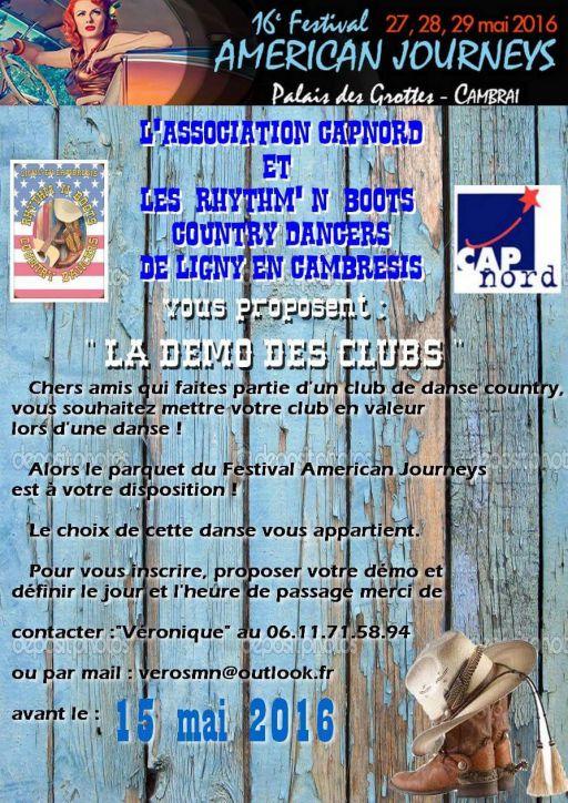 Festival de Cambrai-Démo des Clubs 2016
