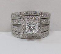 3 Piece Wedding Ring Set - staruptalent.com