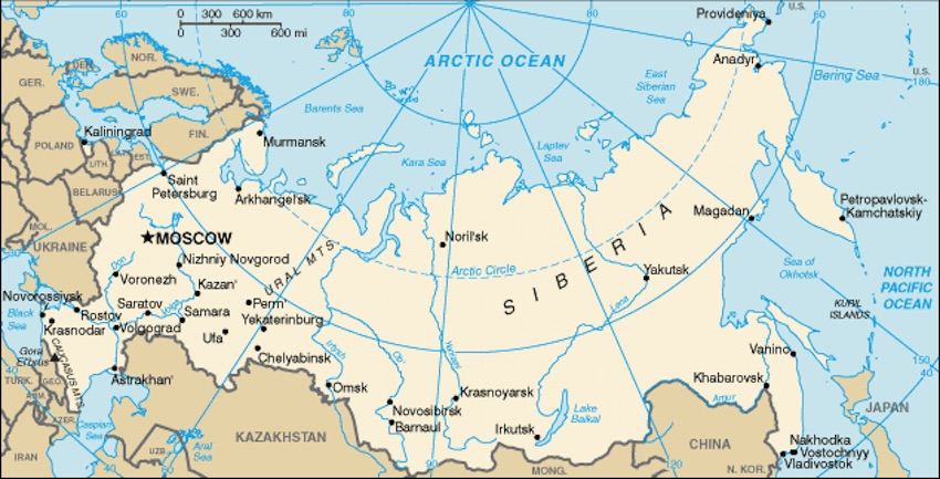 What Continent is Russia in Europe or Asia? - Country Digest