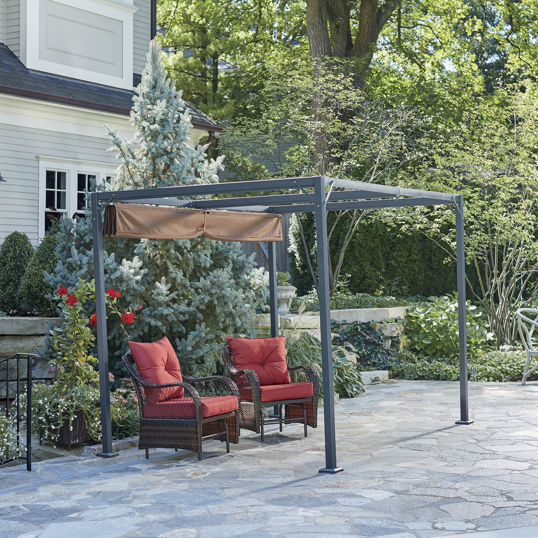 Gazebo Awning Retractable Awning Gazebo Country Door