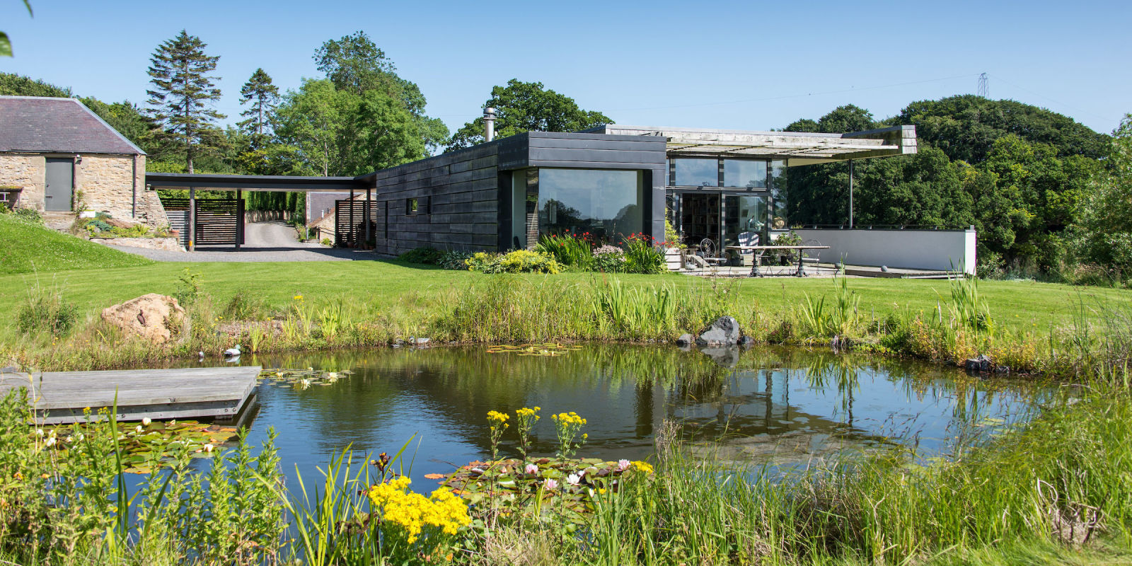 House Designs Scotland Kevin Mccloud 39s Quotdream Home Quot From Grand Designs Is Up For Sale
