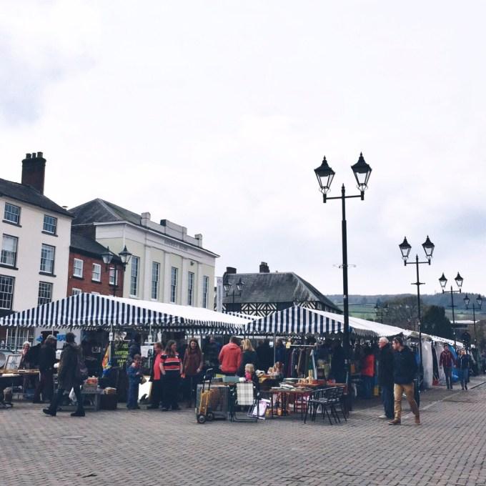 Antiques Market, Ludlow