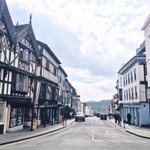 Ludlow High Street, Shropshire