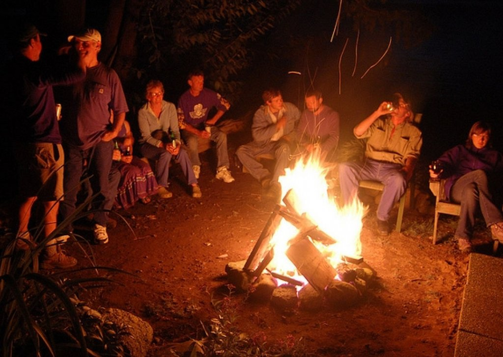 Kids Wallpaper Hd Campfire Party Audio Atmosphere