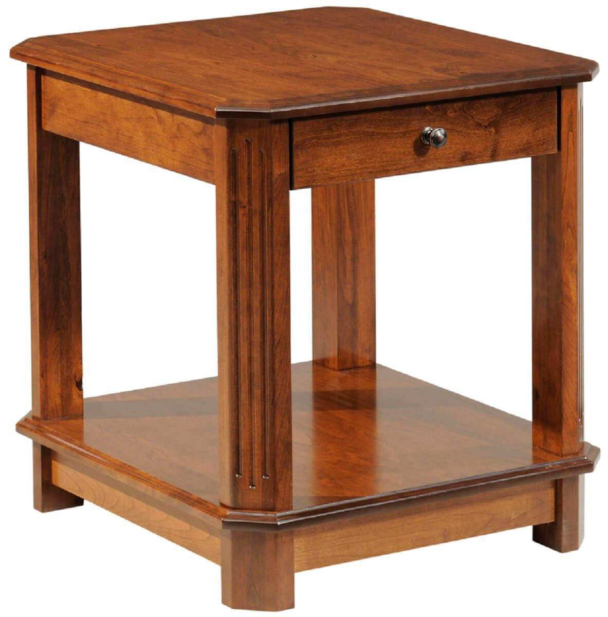 Building An End Table Manero Living Room End Table Countryside Amish Furniture