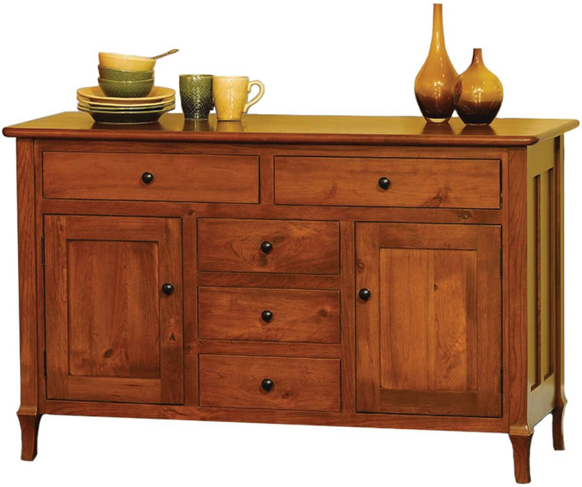 Sideboard Real Big Valley Real Wood Storage Buffet Countryside Amish Furniture