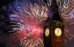 С Новым годом! Биг Бен и новогодний салют в Лондоне