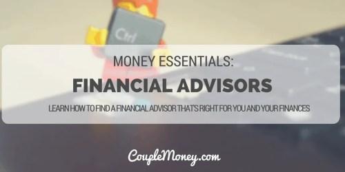 FINANCIAL PLANNERS ADVISOR BEHAVIOR GAP COUPLE MONEY