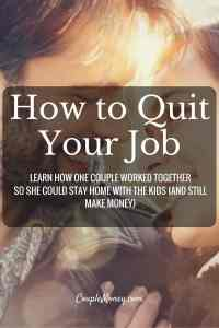 "Ready to quit your job and start your own business? Steve Chou, Founder of My Wife Quit Her Job and co-founder of Bumblebee Linens, shares how you can build a business from home. <div class=""smart-track-player  stp-color-60b86c"" data-url=""""http://traffic.libsyn.com/couplemoney/CM_S3E2_How_to_Quit_Your_Job_and_Still_Make_Money.mp3"""" data-download=""true"" data-color=""60b86c"" data-paid=""true""  data-social=""""true""""  data-social_twitter=""""true""""  data-social_facebook=""""true""""  data-social_gplus=""""true"""" data-speedcontrol=""true"" data-get=""true"" data-uid=""6xYRDGiZ"" data-download_id=""53d727682bed06c21983dbcd891a0d22"" ></div> Starting a Business from Home"