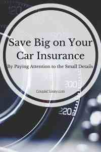Amazing The Small Auto Insurance Details That Matter  Couple Money