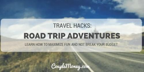 road trip hacks couple money