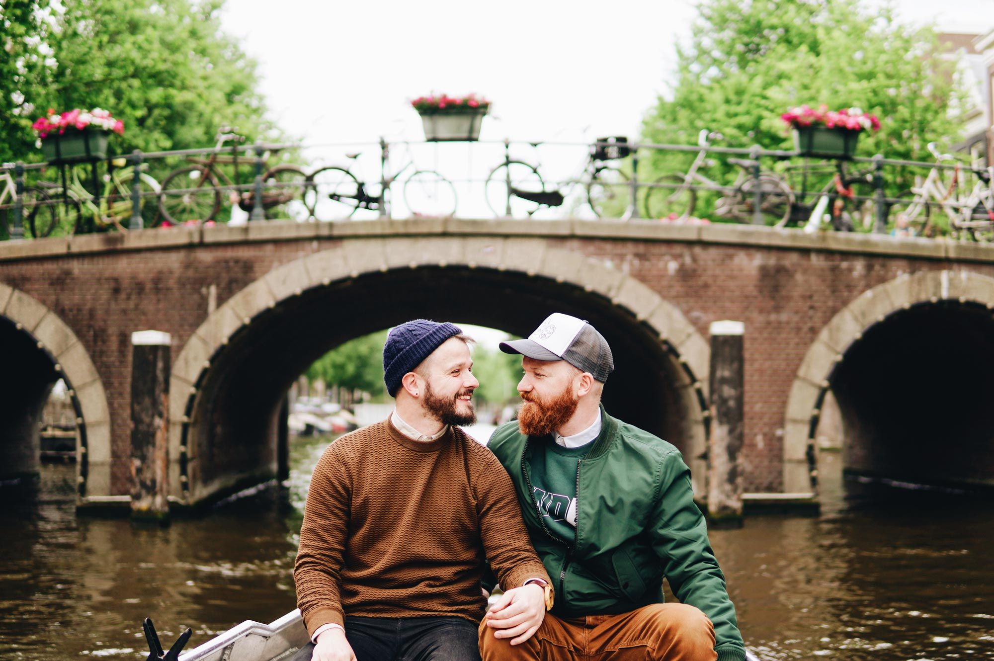 Rent A Boat Amsterdam Gay Couple Rental Canal Boat Tour Amsterdam Coupleofmen