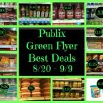 Publix Green Flyer Best Deals 8/20 - 9/9