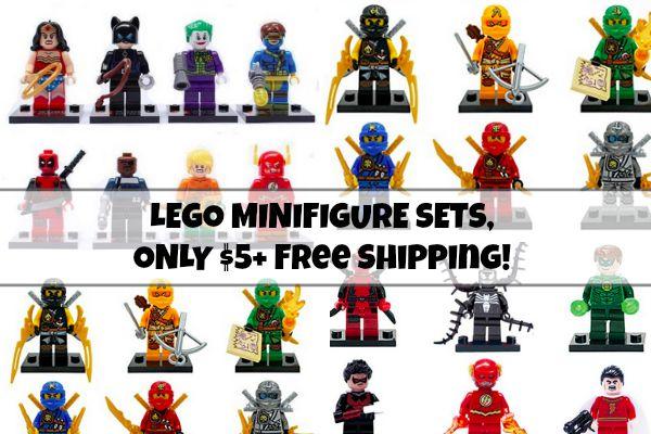 Super Hero Star Wars Ninja Lego Minifigures On Sale
