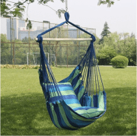 Hanging Rope Hammock Chair, Only $24.99 ($79.99 Value!)
