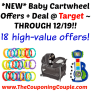 New Baby Cartwheel Offers Deal Target Through 12 19