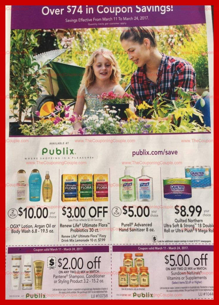 Purple Health-Beauty Flyer Scan for 3-11 to 3-24-17 - coupon flyer