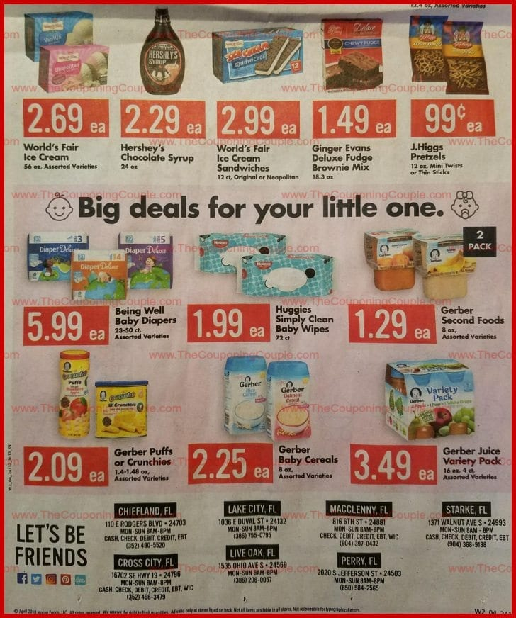 Save A Lot Weekly Ad 4/11/18 - 4/17/18 ~ Save A Lot Ad Preview!
