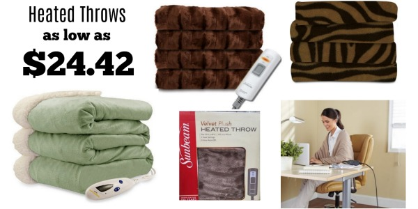 Walmart Heated Throws As Low As 2442 Shipped